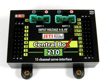 Central BOX 210 s 2x Rsat2 a RCSW