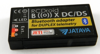 RC DROID - Bluetooth adapter Duplex/Android - DC/DS